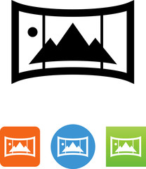 Panorama Picture Icon