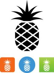 Pineapple Fruit Icon - Illustration