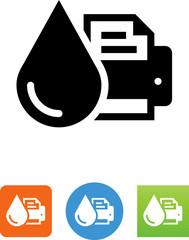 Printer Ink Icon - Illustration