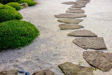 Obraz zen garden path - fototapety do salonu