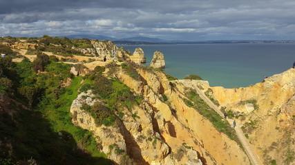 Landscapes of Lagos Algarve portugal