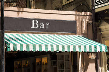 Schild 276 - Bar