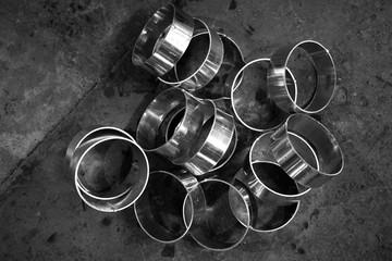 round iron tube