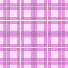 Pink background of plaid pattern