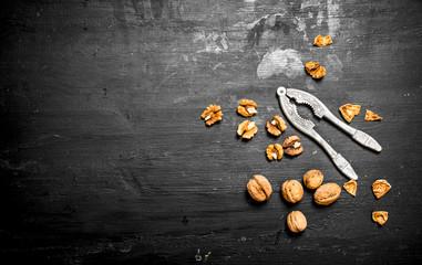 Walnuts with Nutcracker.