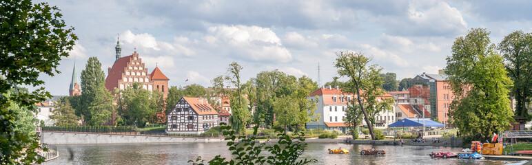 Obraz Bydgoszcz - Wyspa Młyńska - fototapety do salonu