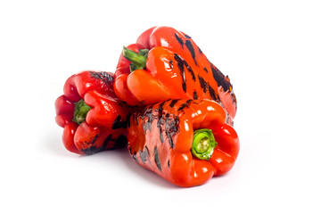red pepper grilled