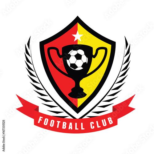 football logo soccer logo sports logo design template stock