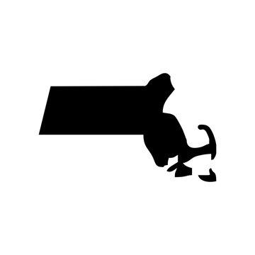 massachusetts vector logo. nature logo.