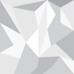 Abstract grey wallpaper polygon. Geometric Triangle Background