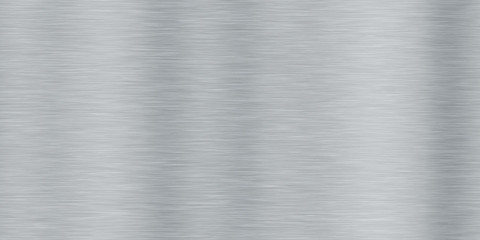 Aluminum Brushed Metal Seamless Background Textures Wall mural