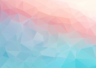Colorful flat background with triangles shape
