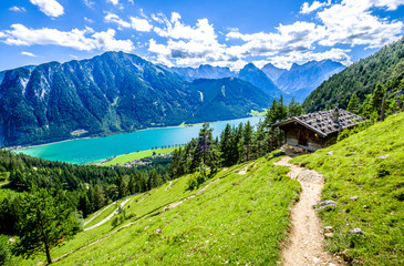 achensee lake in austria Wall mural