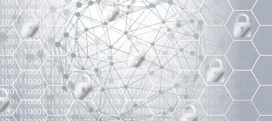 Netzwerk Hintergrund