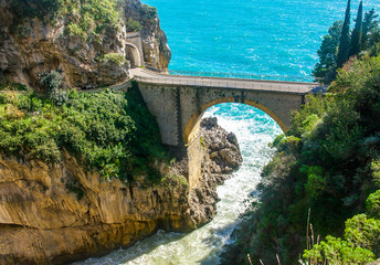 Wall Mural - The Amalfi Drive - One of the World's Most Amazing Roads