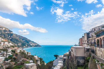 Wall Mural - Sea view in Positano, Italy