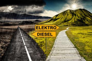 Elektro vs. Diesel