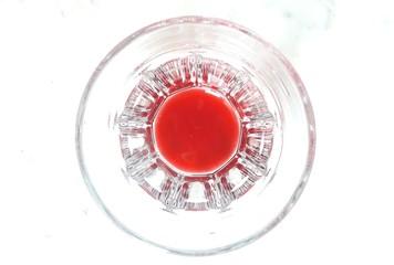 Bicchiere con succo