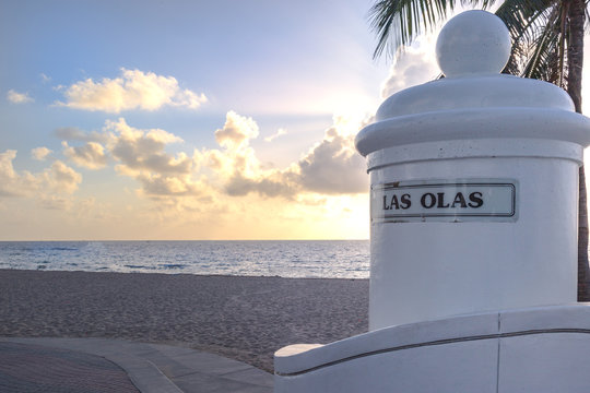 View of the Beach at Las Olas in Ft. Lauderdale, FL