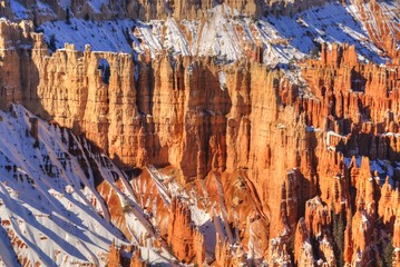 Hoodoos as the Snow Melts