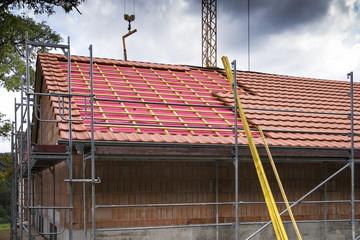 remplacement des tuiles sur toiture