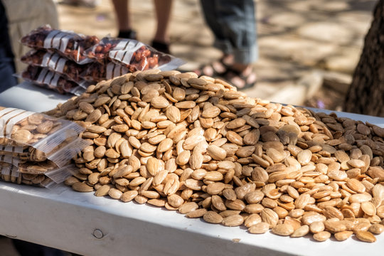 Lots of tasty Marcona Almonds - Malaga