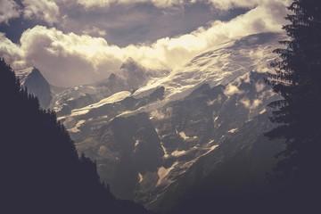 Wall Mural - Chamonix Mont Blanc Scenery