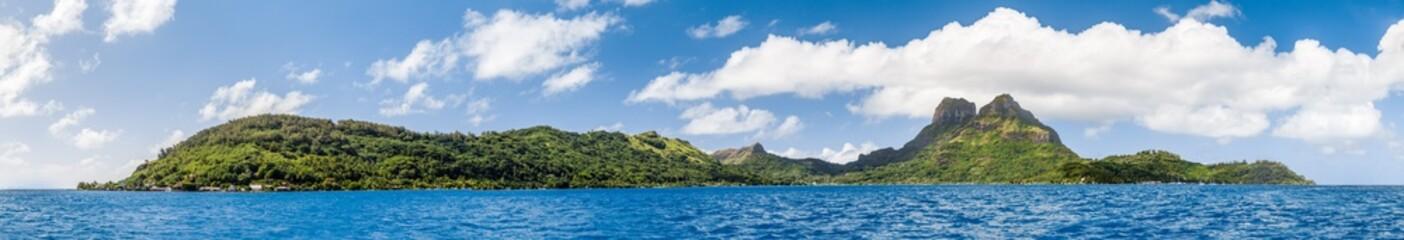 Mont Otemanu Archipel und Lagune auf Bora Bora, Französisch Polynesien