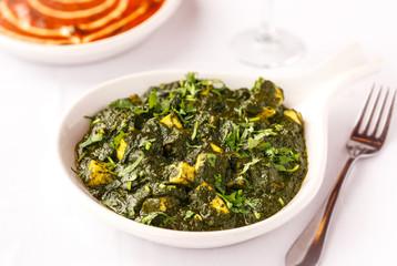 Indian Food - Saag Paneer