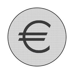 Gitter-Icon Euro