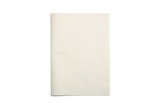 Blank Newspaper with isolated background