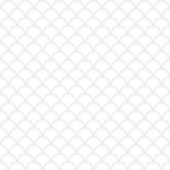 Seamless pattern, abstract, white, round shapes, vector