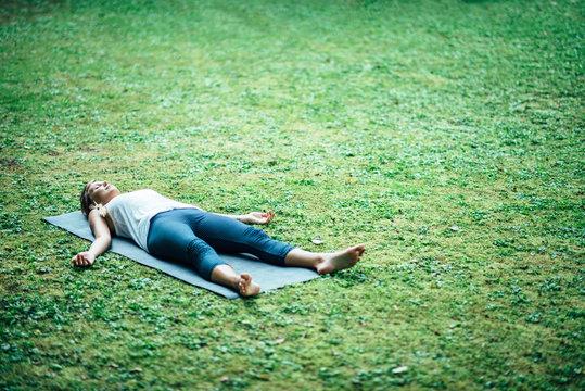 Yoga Corpse Position