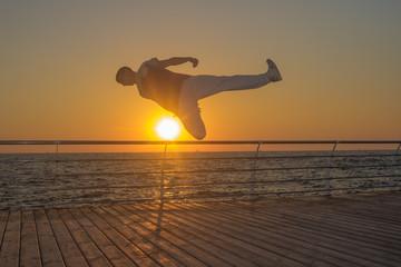 breakdancer at dawn