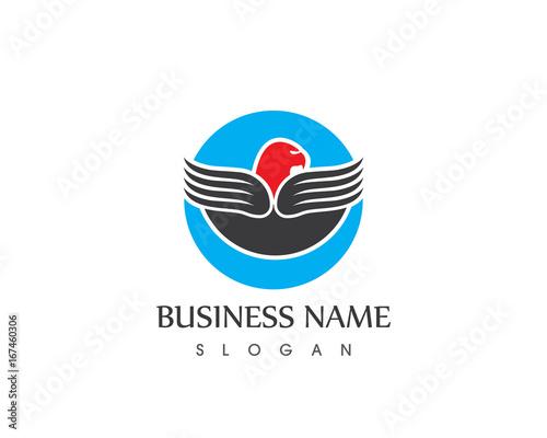 eagle logo design fotolia com の ストック画像とロイヤリティフリーの