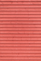 wooden red painted board texture