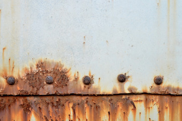 Metal rust Background,rust on old wall background , A rusty textured Wall mural