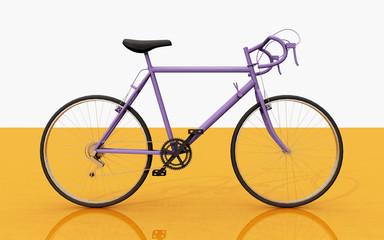 Rennrad, Seitenansicht