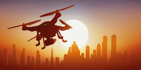 drone - espion - caméra - surveillance - contrôler - technologie
