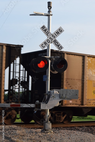 Train Crossing Lights
