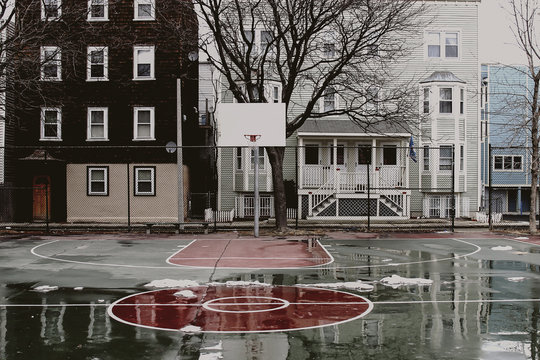 Southie Hoop Court