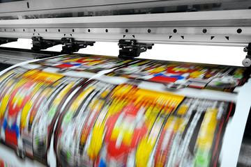 large printer format inkjet working