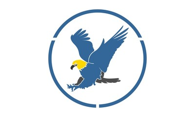 hawk hunting logo