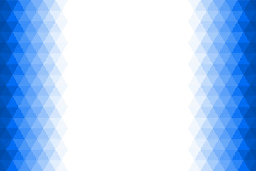 gradient blue triangle background or texture for montage or input text free space, vector illustration