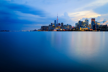 Wall Murals Toronto Blue Toronto, Calm City