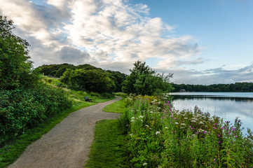 Lakeside path in Cumbria