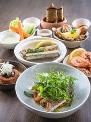 Mix of Seafood Set Menu fresh