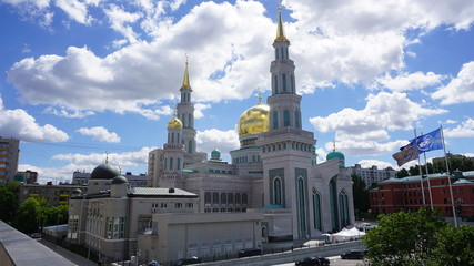 Russia Moscow Mosque