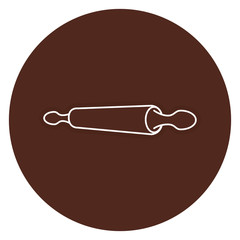 bakery roller isolated icon vector illustration design