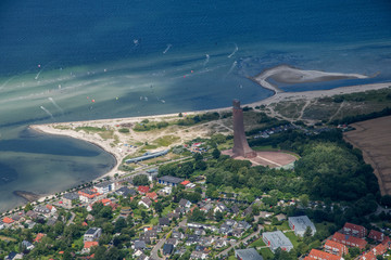 The north of Germany with Luebeck, Timmendorf, Laboe and the coastline of the Baltic Sea